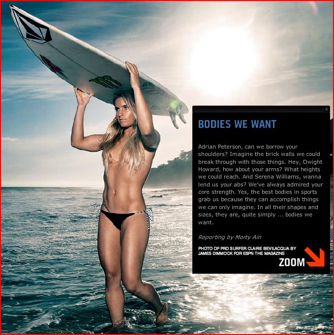 Claire Bevilacqua ESPN The Body Issue