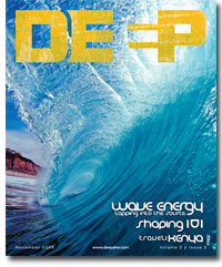 Deep Surf Magazine Cover October 2008