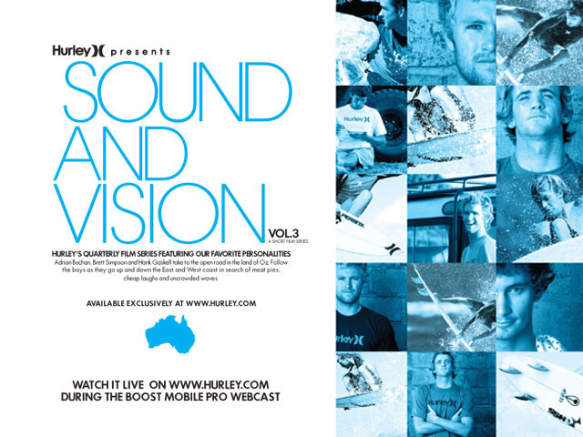 Hurley Sound and Vision Volume 3