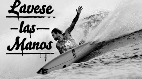 Nathan Fletcher Lavese Las Manos Surf Movie