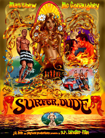 alternative surfer dude movie poster