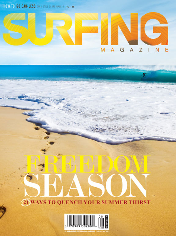 Surfing Magazine August 2009