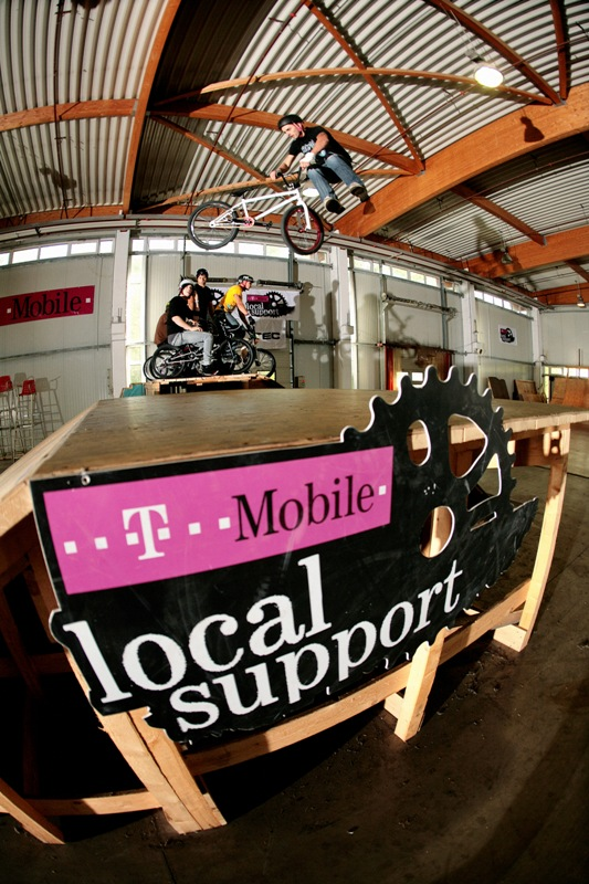 T-mobile local support BMX contest